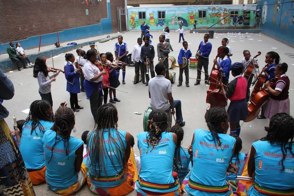 Belle journée de rencontres et d'échanges à Soweto et à Braamfontein!