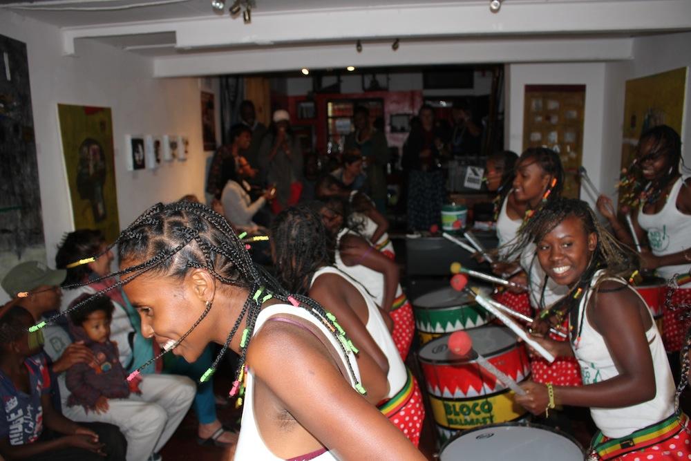 La Bloco Malagasy célèbre le «Freedom day» à l'African Freedom Station à Johannesburg