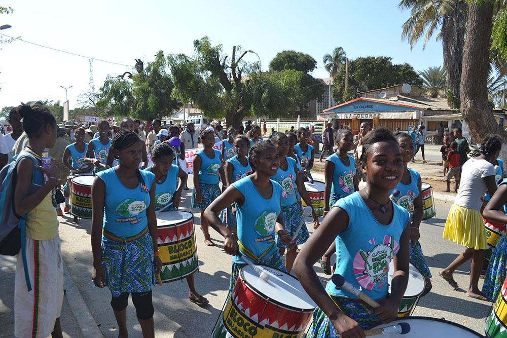 La Bloco Malagasy bat ses tambours pour la propreté