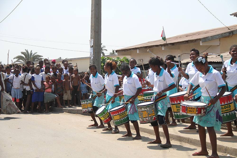 Plus de sensibilisations avec la Bloco Malagasy