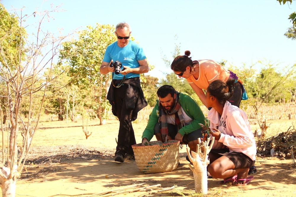 Beaucoup d'échanges et d'émotion pour les gagnants de la tombola à Madagascar