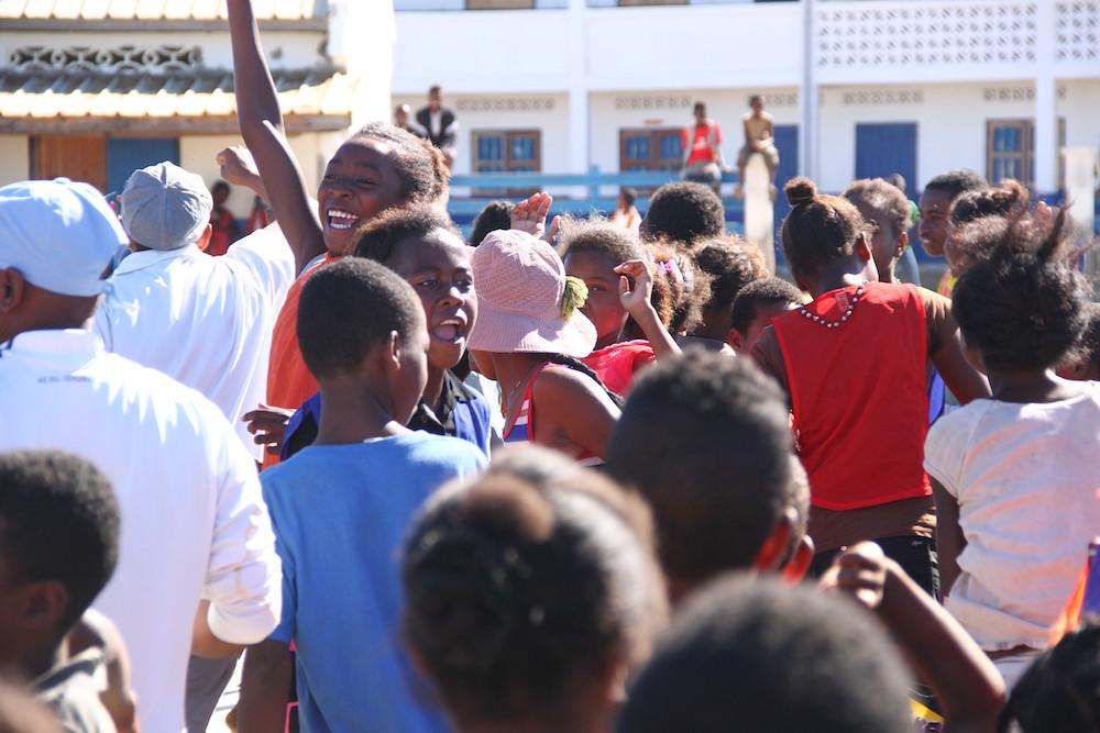Journée de l'enfant africain célébrée au Collège des Salines