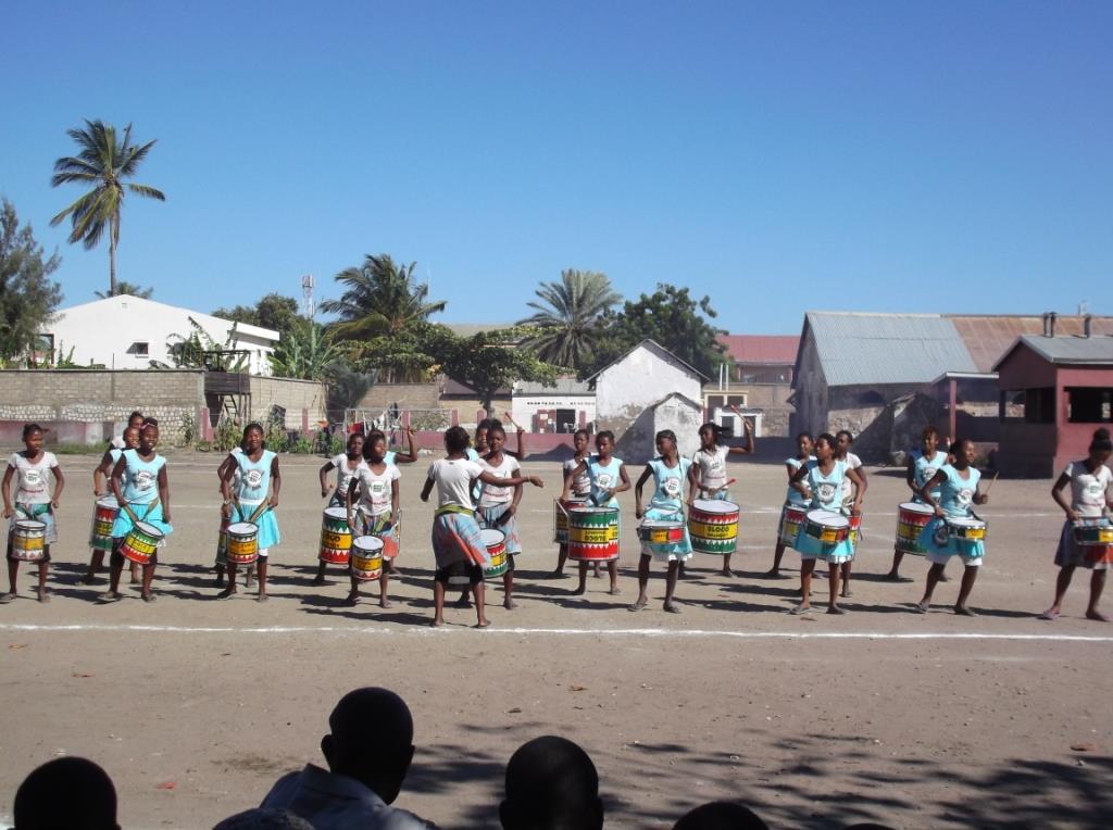 Animation spéciale de la Bloco Malagasy pour la fête nationale