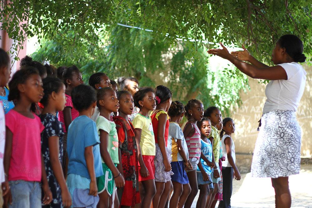 La femme au grand cœur de la Malagasy Gospel