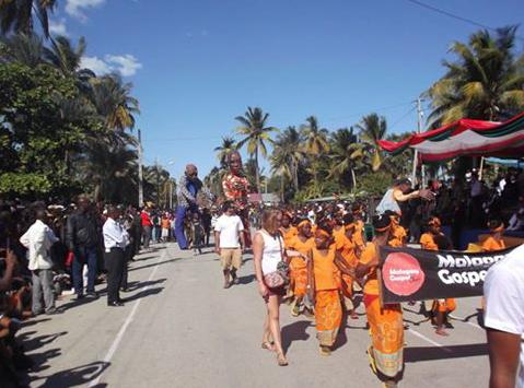 La Malagasy Gospel participe à la célébration de la fête nationale