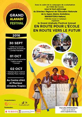 Le Grand Alahady Festival porte sur la thématique «En route pour l'école, en route vers le futur»