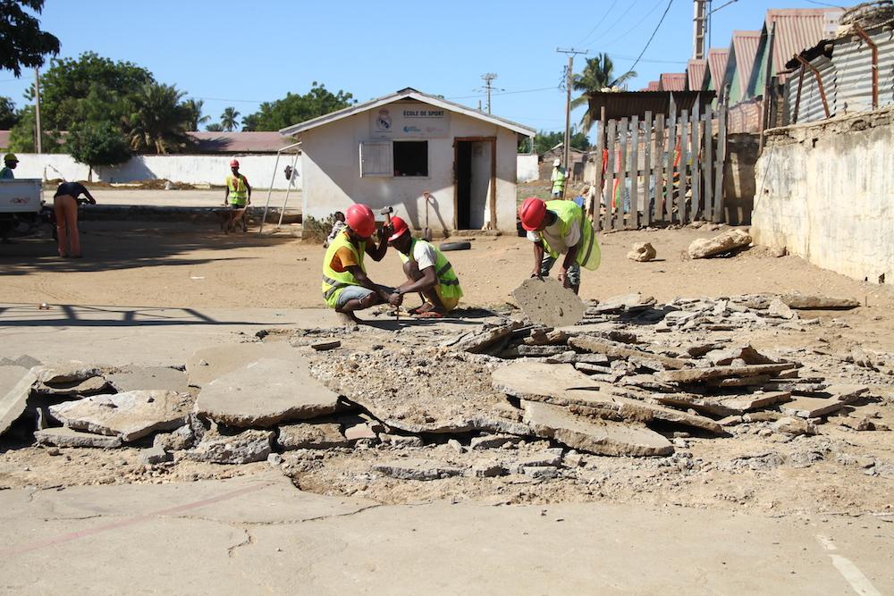 Les infrastructures sportives de l'Ecole de Sport sont réhabilitées au bénéfice de la société civile de Tuléar