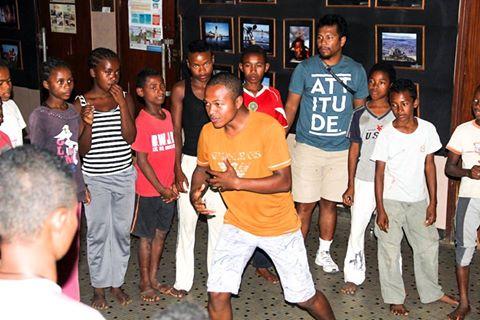 Les jeunes du Centre d'Art et Musique effectuent un stage de perfectionnement