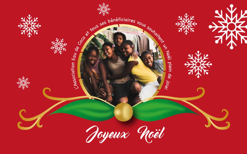 L'ONG Bel Avenir et tous ses bénéficiaires vous souhaitent un joyeux Noël!