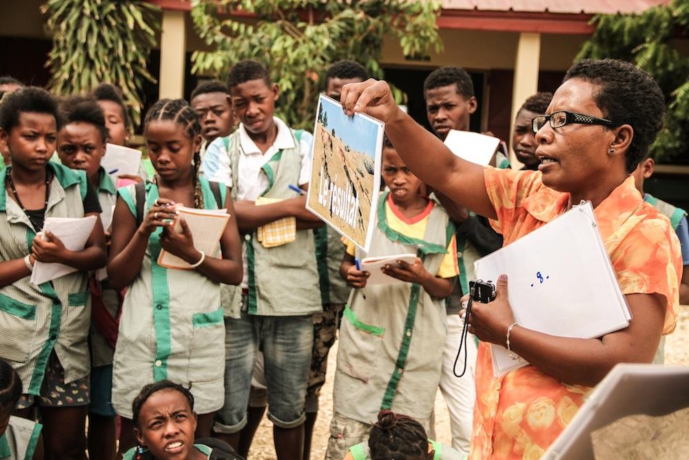 Les élèves du Collège des Salines sont sensibilisés sur l'énergie solaire