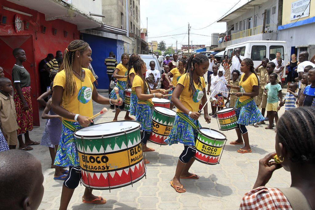 La Bloco Malagasy anime le quartier du MESAD