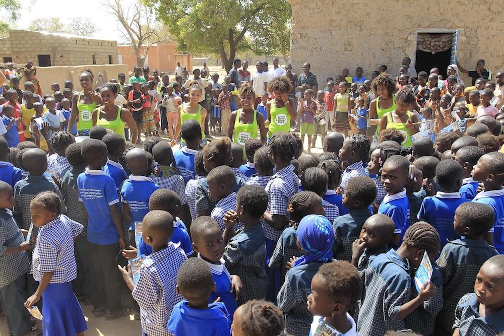 Sensibiliser l'avenir de l'Afrique sur l'éducation