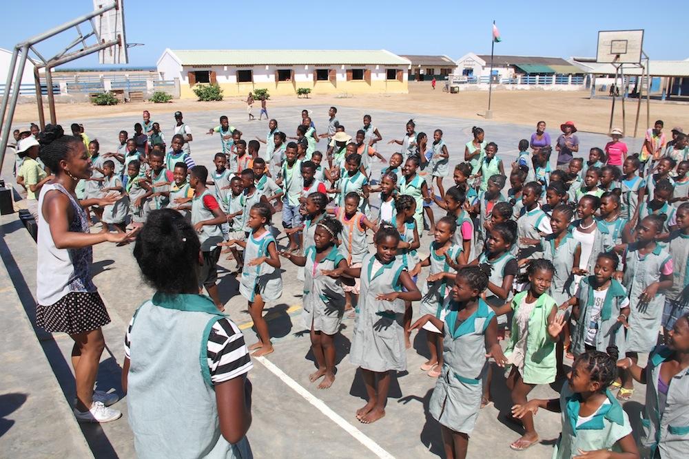 La semaine de la francophonie célébrée à l'École des Salines