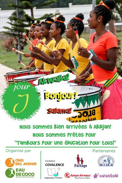 «Tambours pour une éducation pour tous» , c'est parti!