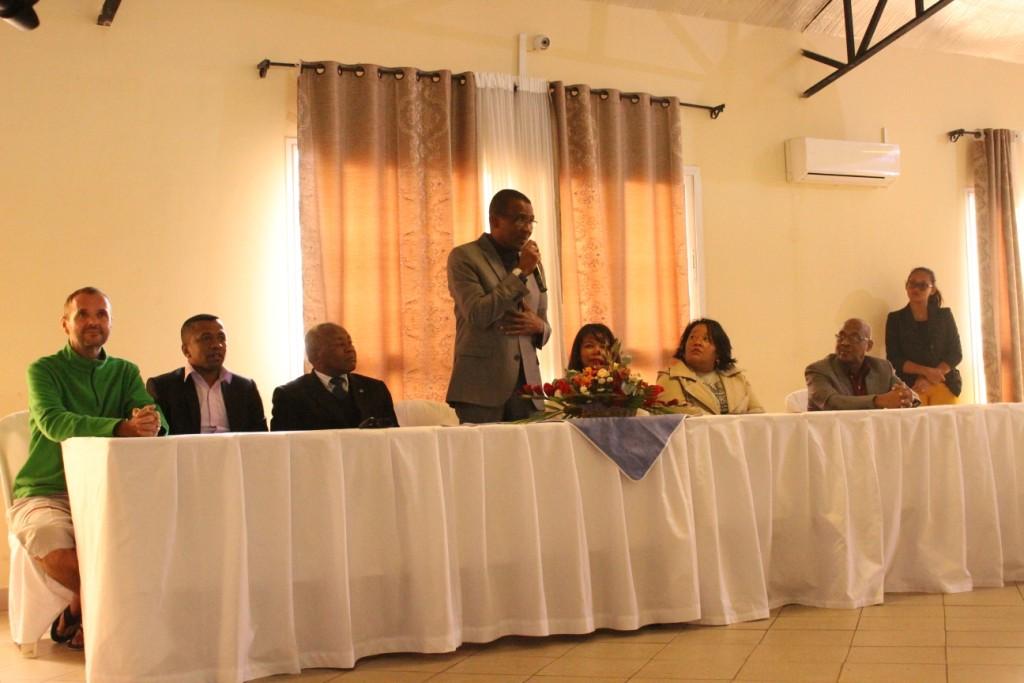La Malagasy Gospel reçue par le Ministre de la Culture