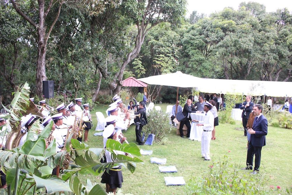 La Malagasy Marching Band anime à la journée de l'Europe