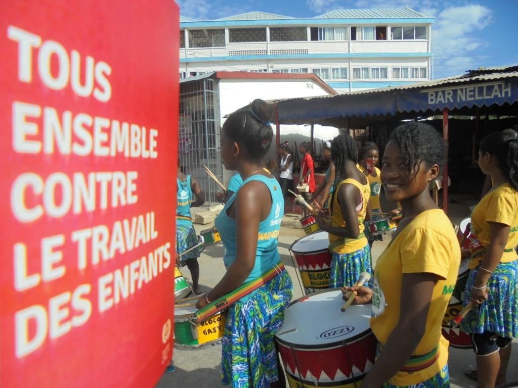 Nous célébrons de la journée contre le travail des enfants