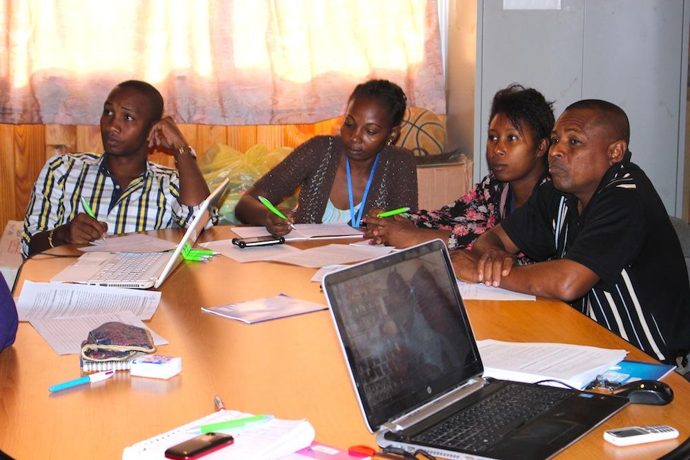 Le FNUAP forme l'équipe de l'ONG Bel Avenir sur la violence basée sur le genre