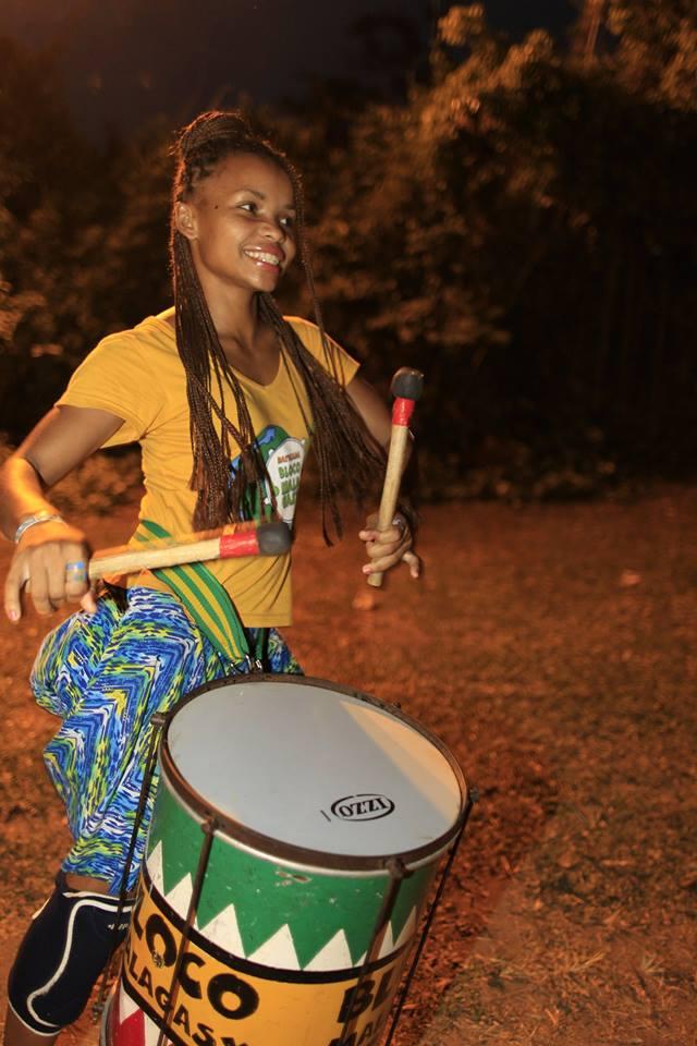 Faites connaissance avec Jaïra, membre de la Bloco Malagasy!