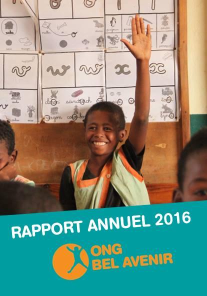 Bonne lecture du rapport d'activités 2016!