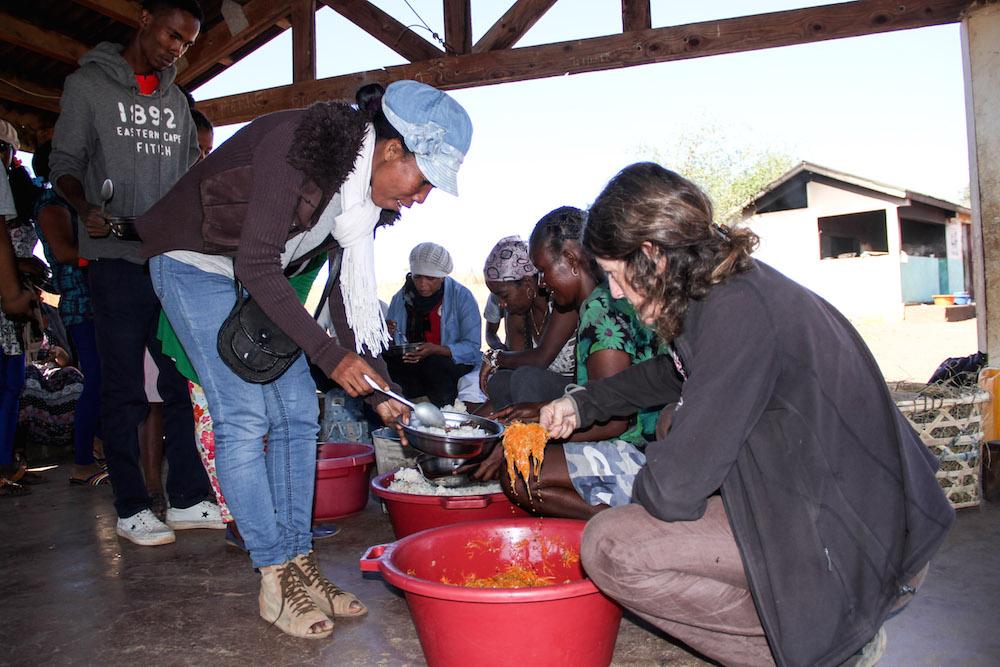 Les enseignants du Collège des Salines découvrent l'École des Saphirs
