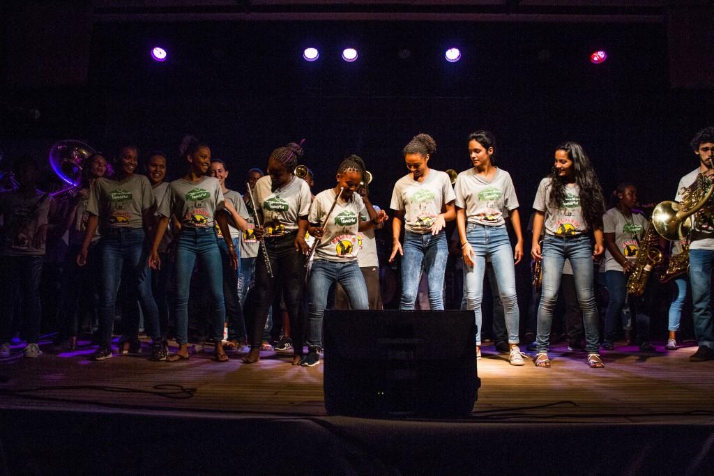 La première résidence artistique qui a eu lieu au Centre d'Art et Musique de l'ONG Bel Avenir est un succès.