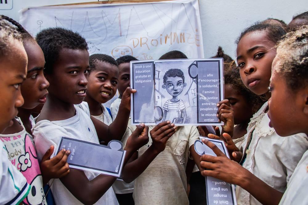 Aujourd'hui: Journée Internationale des droits de l'enfant