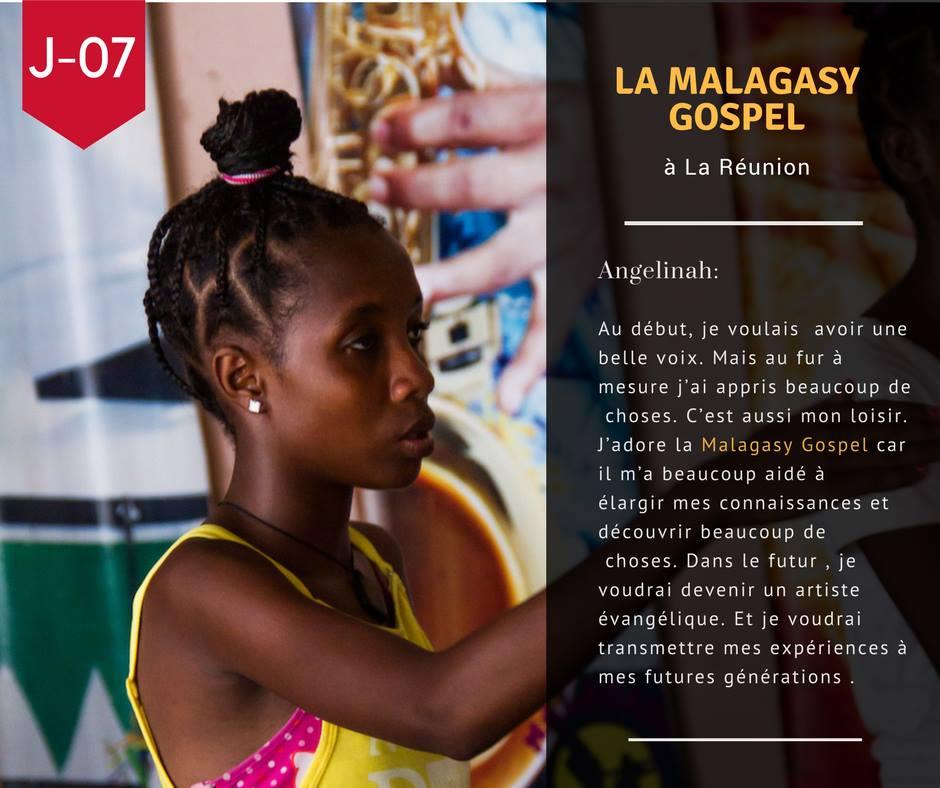 J-07 avant le départ de la Malagasy Gospel