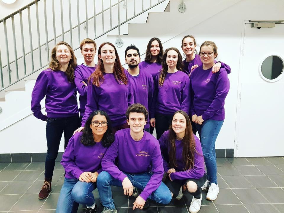 Les 12 étudiants de l'Université Simone se rendront au sein du programme CoconutWater