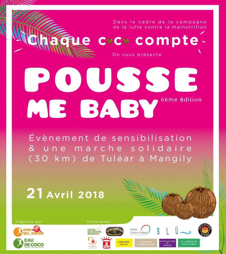 Rejoinez la marche solidaire « Pousse me Baby »pour lutter contre la malnutrition