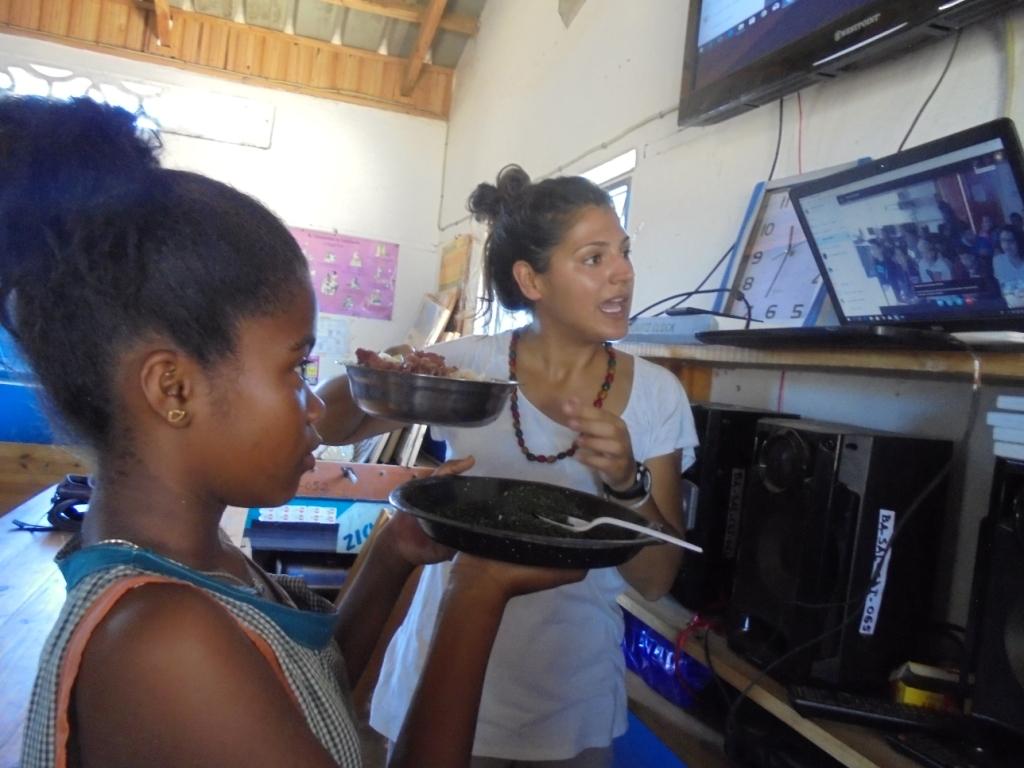 Nouvelle du projet NAMANA: Le skype avec les amis jumelés