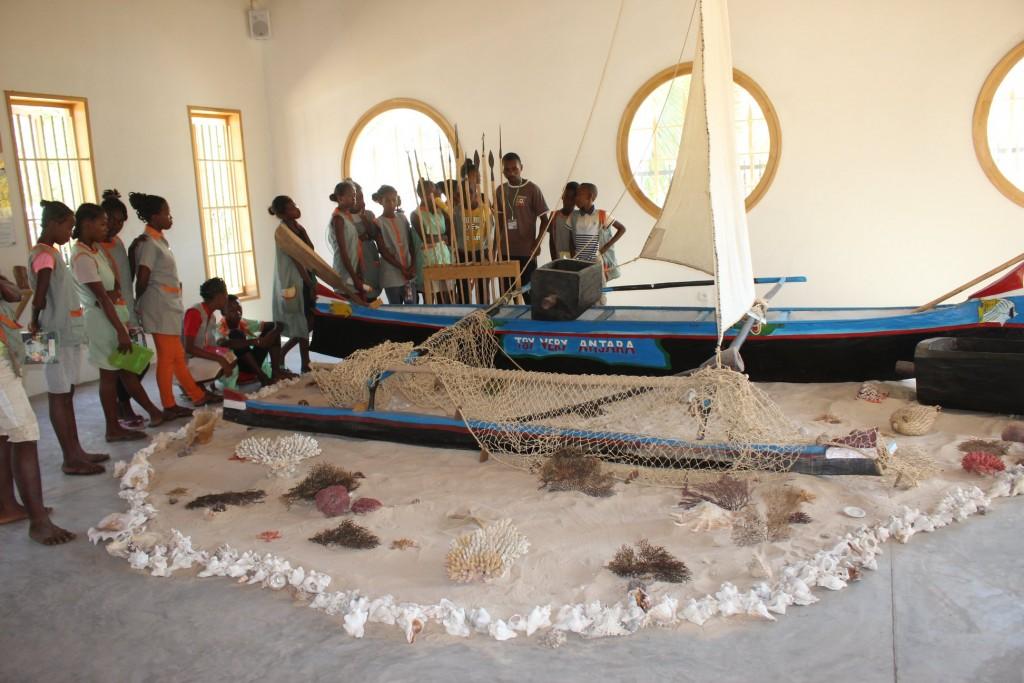 visite enrichissante du centre d'exposition