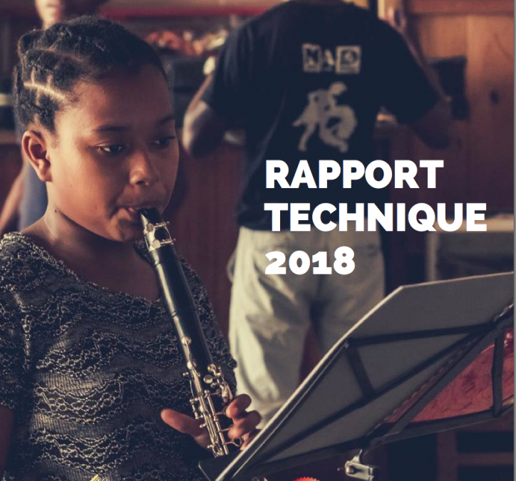 Rapport technique 2018
