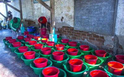 COVID-19 : Distribution des Kits d'hygiène