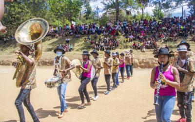 Mini-tournée de la Marching Band à Fianarantsoa