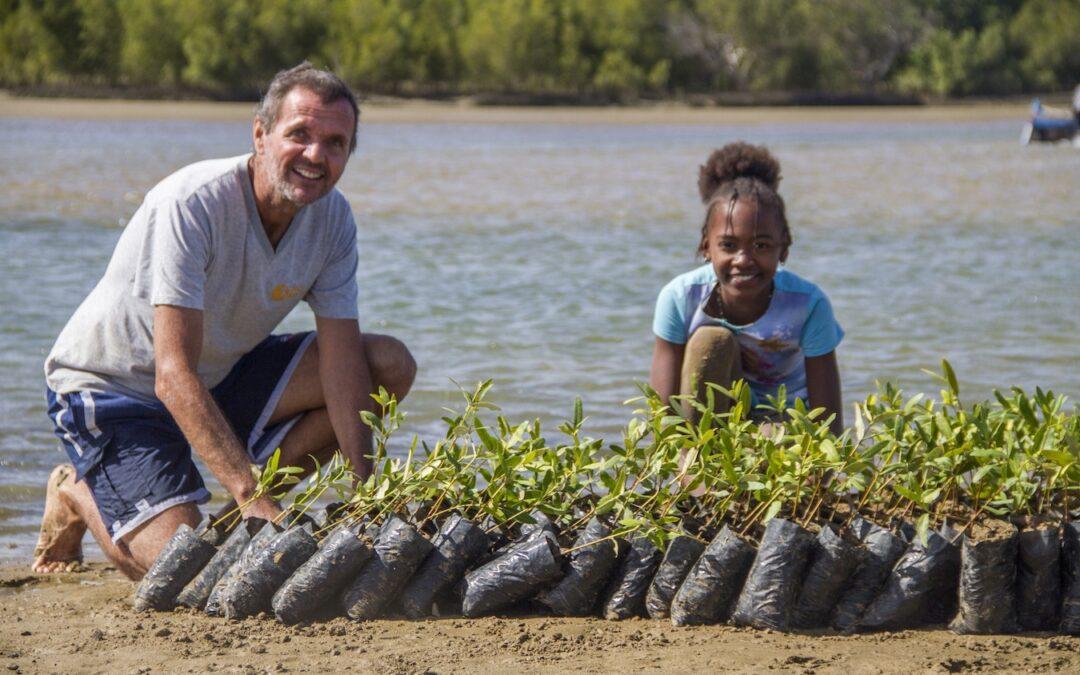 ACTION ECO- LOGIQUE : 4000 palétuviers pour l'environnement.