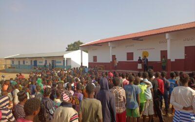 Rentrée scolaire à l'école des Saphirs